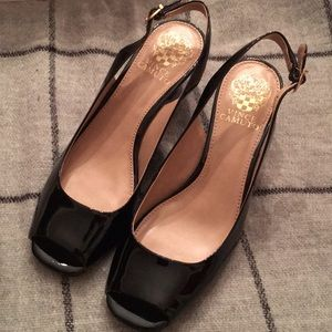 Vince Camuto Patent Leather Shoes